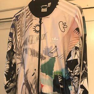 Adidas Farm Tropical Print Jacket